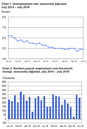 Bls Employment Situation Report: July 2016 | Mrinetwork - Experts